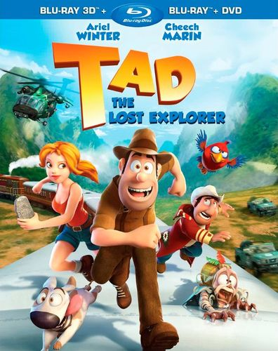 Tad, the Lost Explorer [2 Discs] [3D] [Blu-ray/DVD] [Blu-ray/Blu-ray 3D/DVD] [2012] 22129594