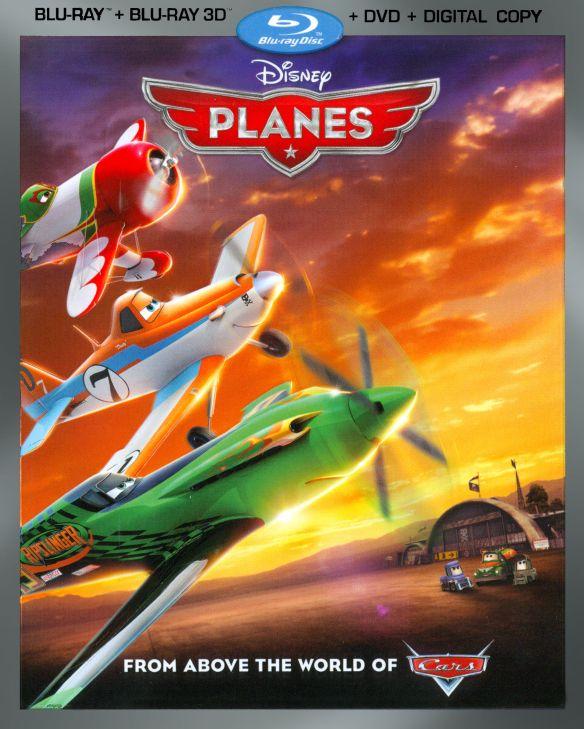 Planes [3 Discs] [Includes Digital Copy] [3D] [Blu-ray/DVD] [Blu-ray/Blu-ray 3D/DVD] [2013] 2217169
