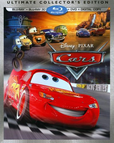 Cars [Ultimate Collector's Edition] [3 Discs] [Includes Digital Copy] [3D] [Blu-ray/DVD] [Blu-ray/Blu-ray 3D/DVD] [2006] 2217187