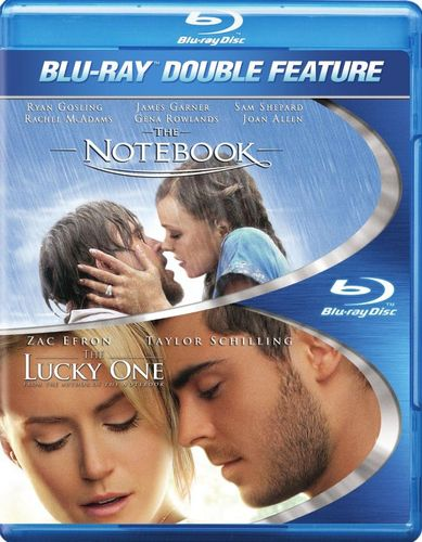 Notebook/The Lucky One [2 Discs] [Blu-ray] 2240278