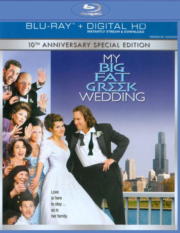 My Big Fat Greek Wedding [Includes Digital Copy] [UltraViolet] [Blu-ray] [2002] 2241117