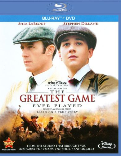 The Greatest Game Ever Played [Blu-Ray/DVD] [Blu-ray/DVD] [2005] 2244166