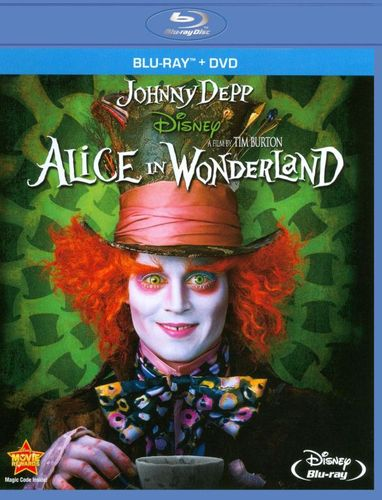 Alice in Wonderland [Blu-Ray/DVD] [Blu-ray/DVD] [2010] 2244227