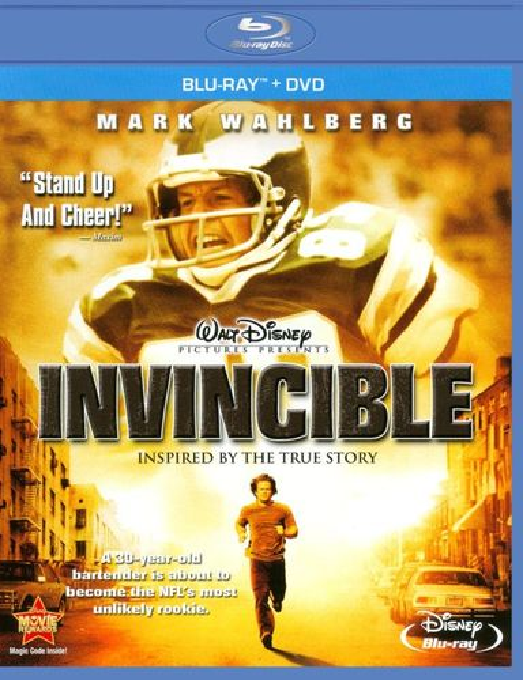 Invincible [Blu-Ray/DVD] [Blu-ray/DVD] [2006] 2244263