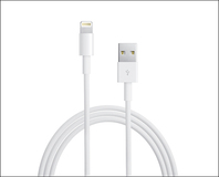 Apple - 6.6' Lightning-to-USB 2.0 Cable - White