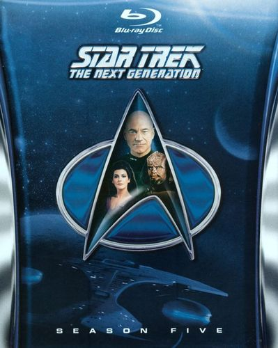 Star Trek: The Next Generation - Season 5 [6 Discs] [Blu-ray] 2301099