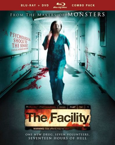 The Facility [2 Discs] [Blu-ray/DVD] [2012] 23039278