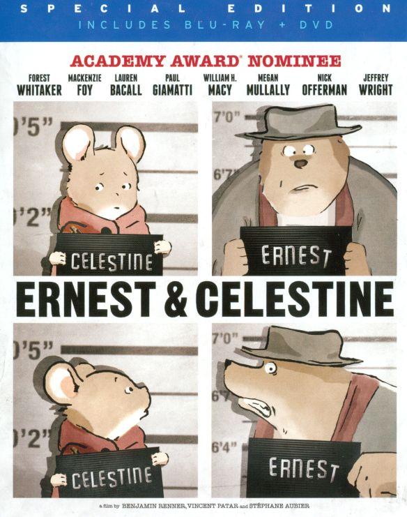 Ernest & Celestine [2 Discs] [Blu-ray/DVD] [2012] 23039355