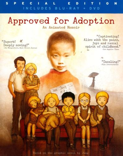 Approved for Adoption [2 Discs] [Blu-ray/DVD] [2012] 23039522