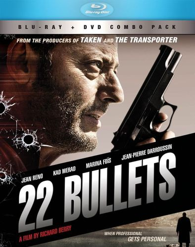 22 Bullets [2 Discs] [Blu-ray/DVD] [2010] 23039722