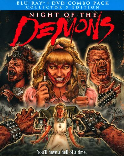 Night of the Demons [2 Discs] [DVD/Blu-ray] [Blu-ray/DVD] [1988] 23042689