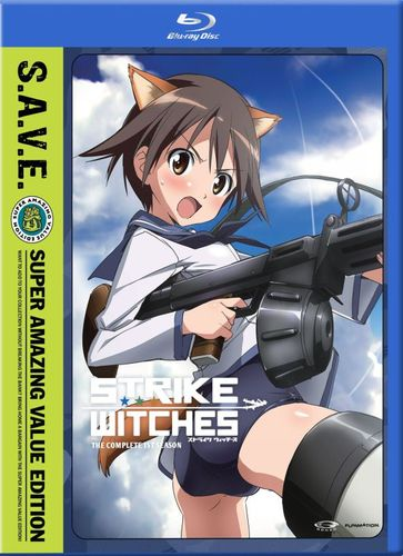 Strike Witches: The Complete First Season [4 Discs] [S.A.V.E.] [Blu-ray] 23048494