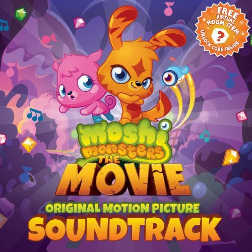 Moshi Monsters: The Movie [Original Motion Picture Soundtrack] [CD] 23061216