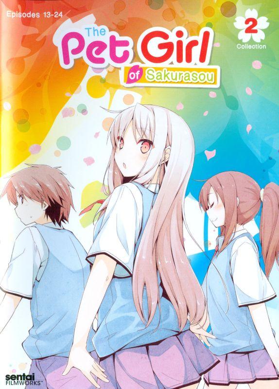 The Pet Girl of Sakurasou: Collection 2 [3 Discs] [DVD] 23062696