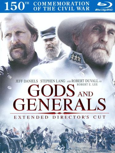Gods and Generals [Director's Cut] [2 Discs] [DigiBook] [Blu-ray] [2003] 2350069