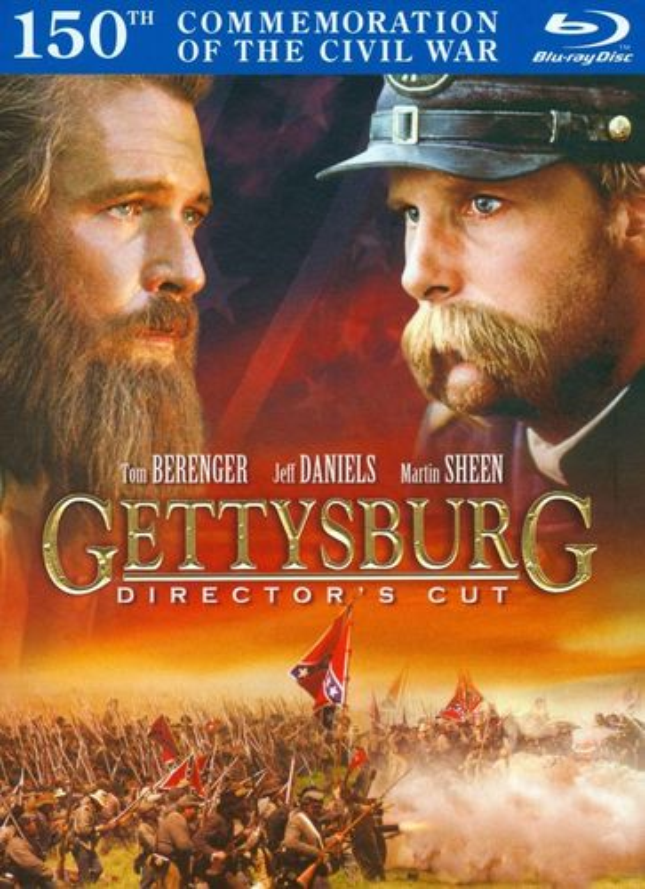 Gettysburg [Director's Cut] [2 Discs] [DigiBook] [Blu-ray] [1993] 2350139