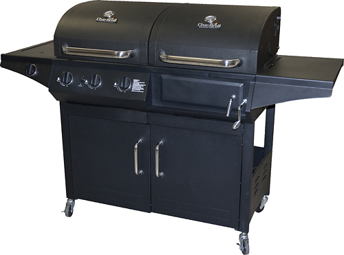 Char-Broil Combo Charcoal/Gas Grill Black 463724511