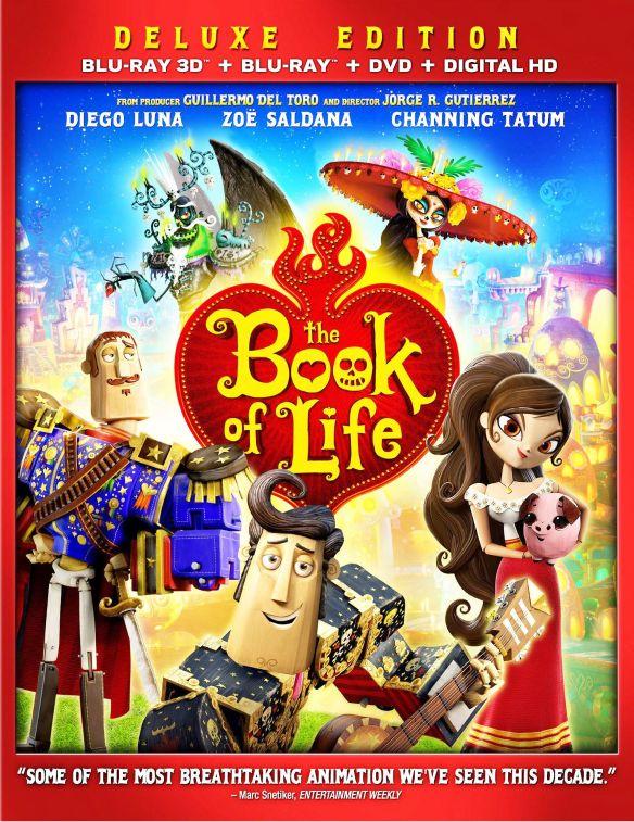 The Book of Life [3 Discs] [3D] [Blu-ray/DVD] [Blu-ray/Blu-ray 3D/DVD] [2014] 2371018