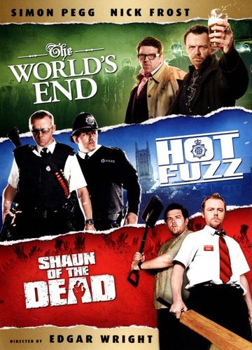 The World's End/Hot Fuzz/Shaun of the Dead [3 Discs] [DVD] 2373007