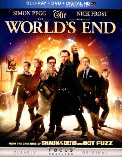 The World's End [2 Discs] [Includes Digital Copy] [UltraViolet] [Blu-ray/DVD] [2013] 2373025