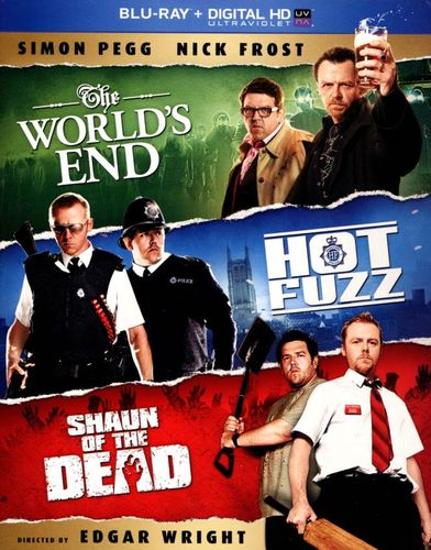 The World's End/Hot Fuzz/Shaun of the Dead [3 Discs] [Blu-ray] 2373034