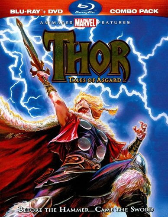 Thor: Tales of Asgard [2 Discs] [Blu-ray/DVD] [2011] 2380867