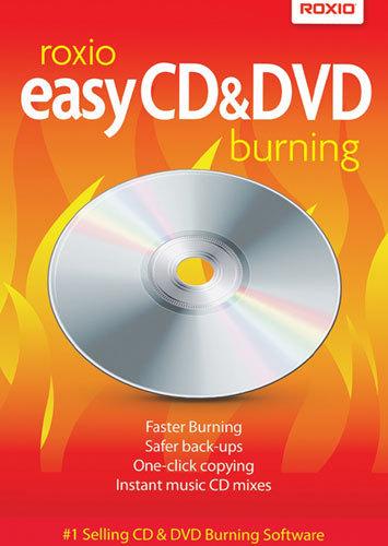 Easy CD & DVD Burning...