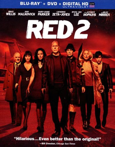 RED 2 [2 Discs] [Includes Digital Copy] [UltraViolet] [Blu-ray/DVD] [2013] 2395069