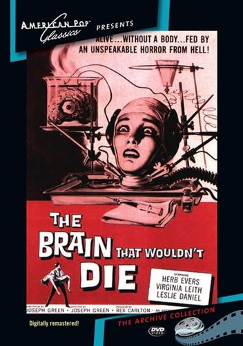 The Brain That Wouldn't Die [DVD] [1959] 24159295