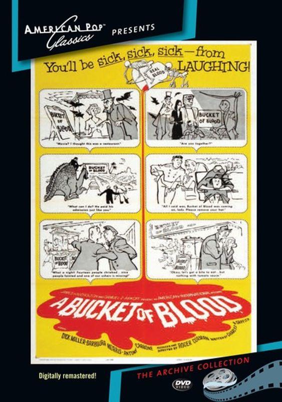 A Bucket of Blood [DVD] [1959] 24159309