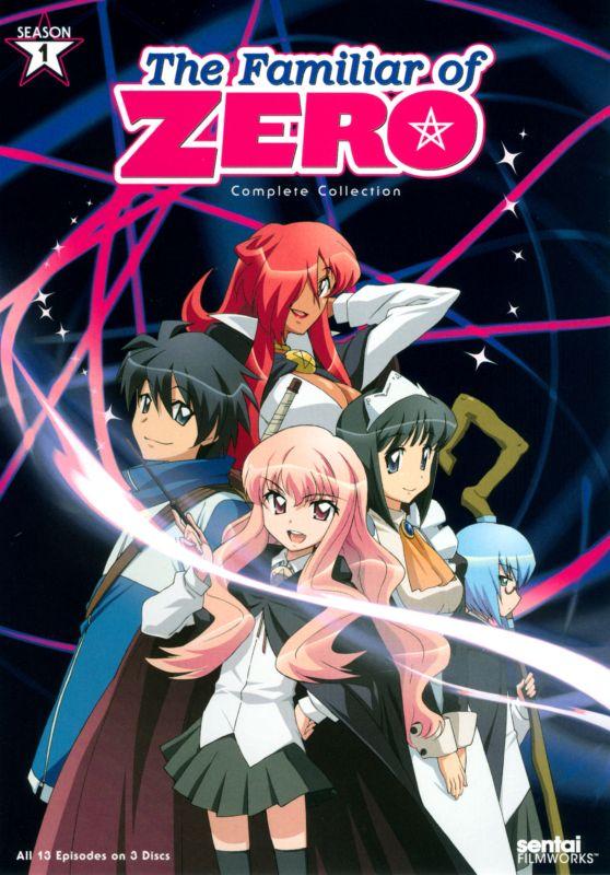 The Familiar of Zero: Season 1 [3 Discs] [DVD] 24213363