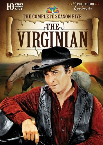 The Virginian: The Complete Season Five [10 Discs] [DVD] 24222141