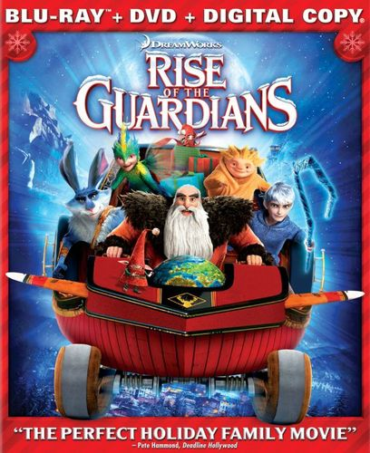 Rise of the Guardians [Includes Digital Copy] [UltraViolet] [Blu-ray/DVD] [2012] 2431077