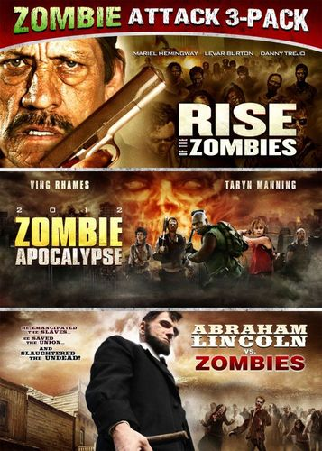 Rise of the Zombies/2012 Zombie Apocalypse/Abraham Lincoln vs. Zombies [3 Discs] [DVD] 24358189