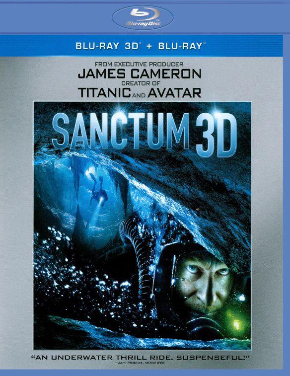 Sanctum [2 Discs] [3D] [Blu-ray] [Blu-ray/Blu-ray 3D] [2011] 2436041