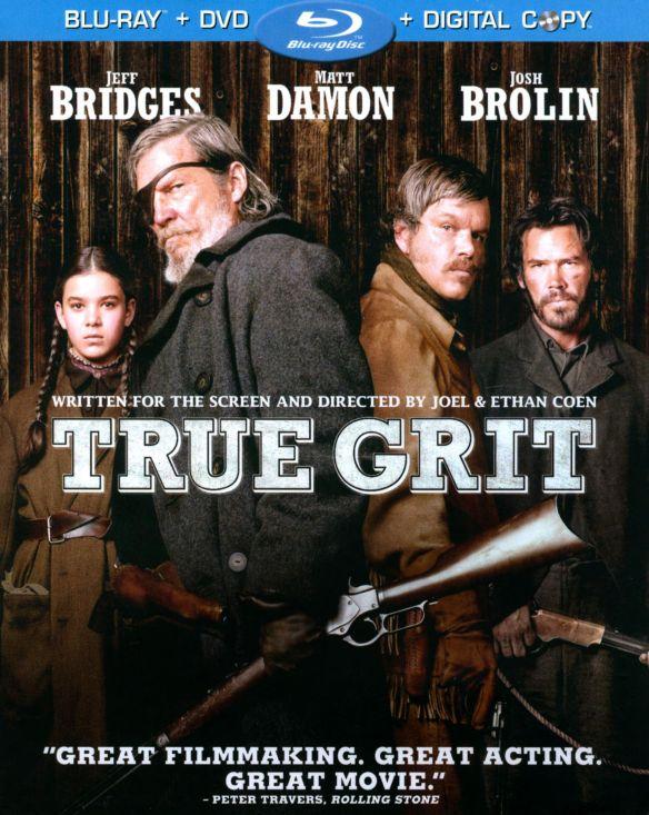True Grit [2 Discs] [Includes Digital Copy] [Blu-ray/DVD] [2010] 2460748