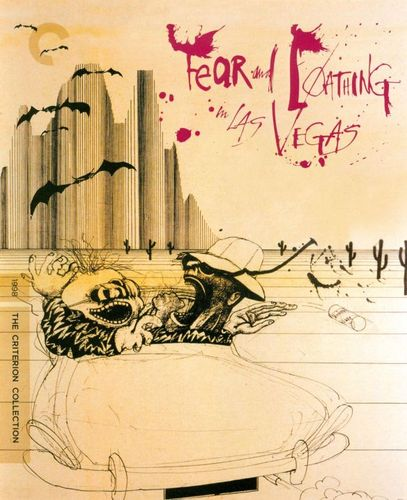 Fear and Loathing in Las Vegas [Criterion Collection] [Blu-ray] [1998] 2463345
