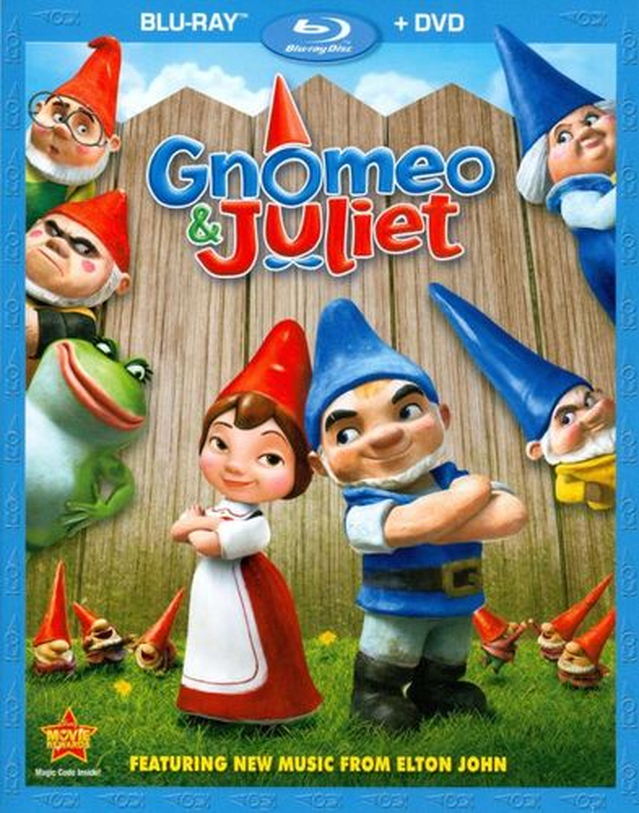 Gnomeo & Juliet [2 Discs] [Blu-ray/DVD] [2011] 2466096