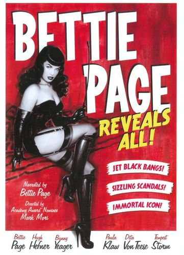 Bettie Page Reveals All [DVD] [2013] 24673613