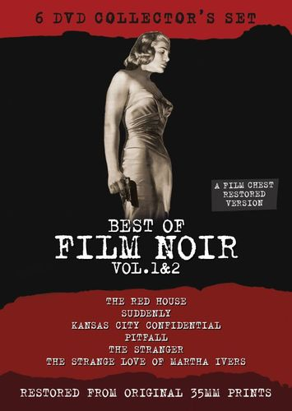 Best of Film Noir, Vol. 1 & 2 [6 Discs] [DVD] 24678264