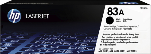 HP - 83A Toner Cartridge - Black