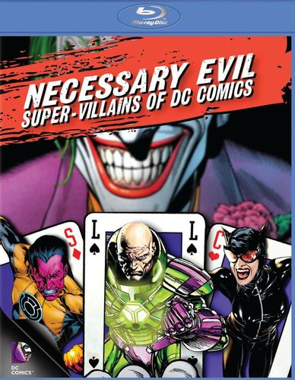 Necessary Evil: Super-Villains of DC Comics [Blu-ray] [2013] 2472962