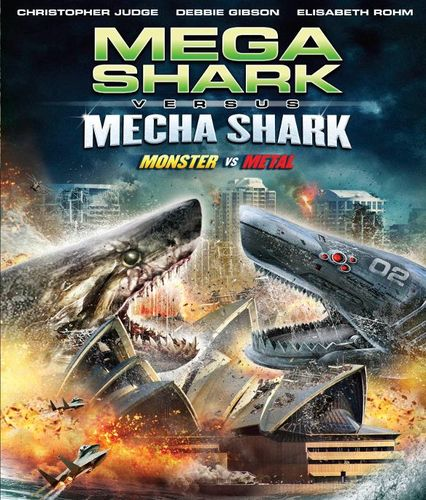 Mega Shark vs. Mecha Shark [Blu-ray] [2014] 24784203
