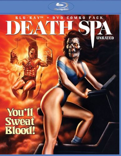 Death Spa [2 Discs] [Blu-ray/DVD] [1987] 24791251