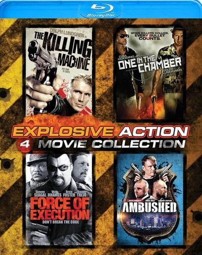 Explosive Action: 4 Movie Collection [4 Discs] [Blu-ray] 24805255