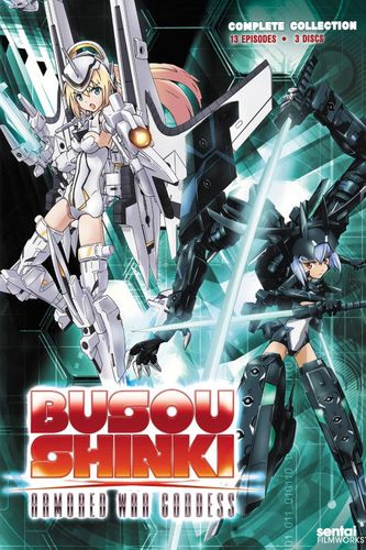 Busou Shinki: Complete Collection [3 Discs] [DVD] 24812359