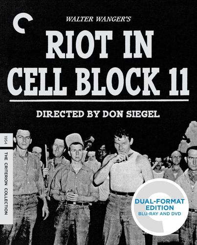Riot in Cell Block 11 [Criterion Collection] [2 Discs] [Blu-ray/DVD] [1954] 24827291