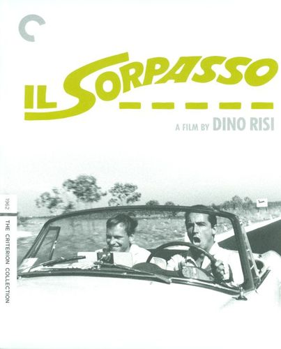 Il Sorpasso [Criterion Collection] [2 Discs] [Blu-ray/DVD] [1962] 24827323