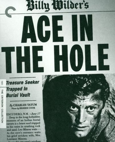 Ace in the Hole [Criterion Collection] [2 Discs] [Blu-ray/DVD] [1951] 24827332