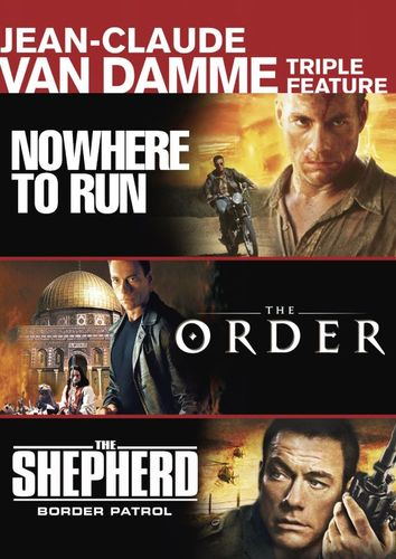 Nowhere to Run/The Order/The Shepherd: Border Patrol [2 Discs] [DVD] 24828218